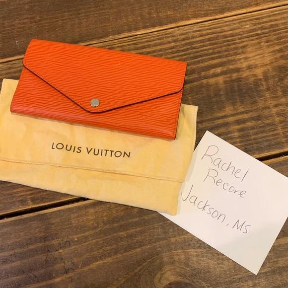 Louis Vuitton Handbags - Louis Vuitton Sarah Epi Piment Wallet
